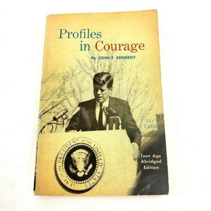 Profiles In Courage John F Kennedy 1964 Vintage
